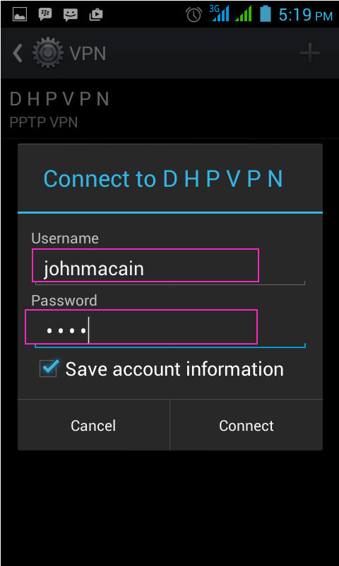 guide to connecting your android device to pptp vpn